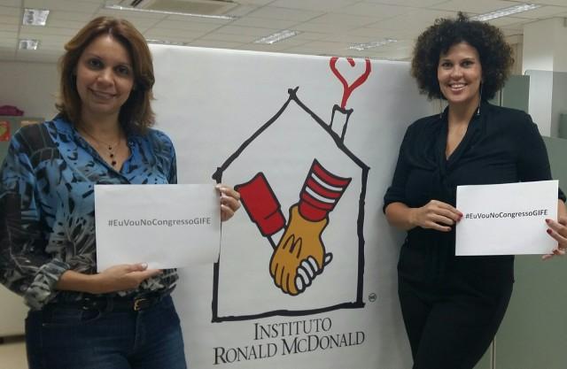 Helen Pedroso e Flavia Reis